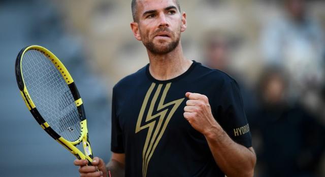Tennis, la pioggia ferma Andreas Seppi dopo tre giochi contro Mannarino nel torneo ATP di Auckland