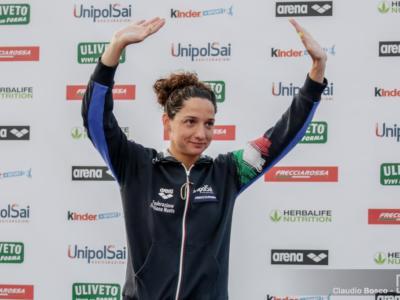 """Nuoto, Elena Di Liddo: """"Il record italiano della 4×100 mista ci fa sperare non poco"""""""