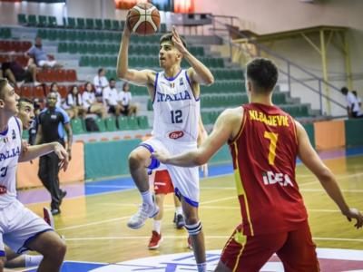 Basket, Europei Under 18 2019: Italia-Montenegro 54-62. Sconfitta all'esordio per gli azzurrini