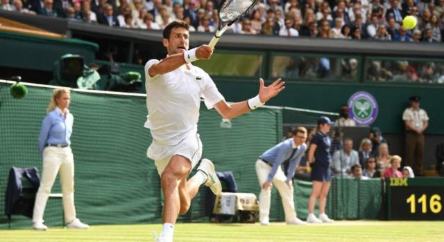"VIDEO Novak Djokovic, Wimbledon 2019: ""Roger Federer mi ispira. Ho sconfitto uno dei più grandi"""