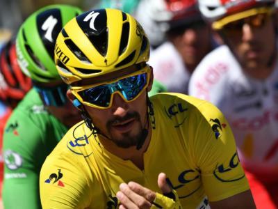 """Tour de France 2019, Julian Alaphilippe: """"La maglia gialla comporta diverse responsabilità. Domani sarà una giornata complicata. Sono pronto"""""""