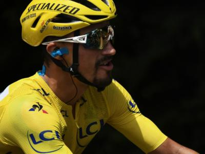 """Tour de France 2019, Julian Alaphilippe: """"Ho dato veramente tutto. Non riesco ancora a crederci. Adesso vedremo come andrà"""""""