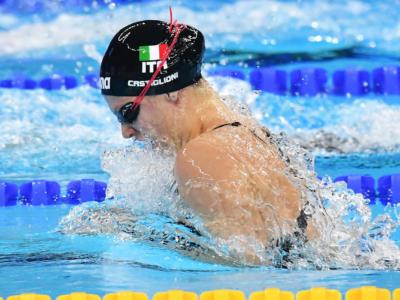 """Nuoto, Arianna Castiglioni negativa al tampone anti-Covid: """"Vado agli Assoluti e deciderò se gareggiare o meno"""""""
