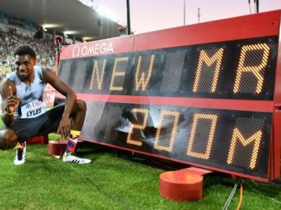 Atletica, Noah Lyles incredibile 18.90 sui 200 metri ma non vale: ha corso di meno! Felix e Kendricks vincono gli Inspiration Games