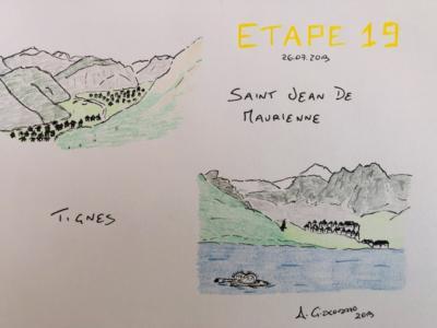 Tour de France 2019, orari di partenza e arrivo diciannovesima tappa Saint-Jean-de-Maurienne.Tignes: i paesi che verranno attraversati