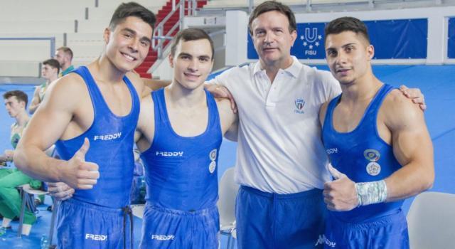 Ginnastica artistica, Universiadi 2019: Italia quarta con gli uomini. Russo, Patron e Sarrugerio conquistano sette finali