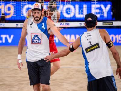 Beach volley, World Tour 2019 Espinho. La vendetta di Alison: Lupo/Nicolai quinti. Abbiati/Andreatta 17mi
