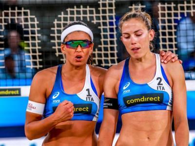 Beach volley, Europeo 2020 Jurmala. Hermannova/Slukova troppo forti per Menegatti/Orsi Toth che passeranno dai sedicesimi