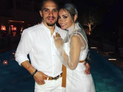 Ginnastica artistica, Petrounias e Millousi si sono sposati. Il Campione del Mondo con l'icona di bellezza