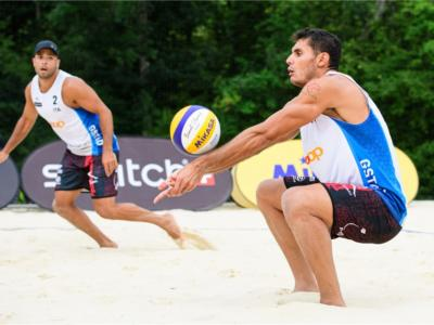 Beach volley, Campionato Europeo Jurmala. Sorteggiati i gironi: gruppo di ferro per Rossi/Carambula