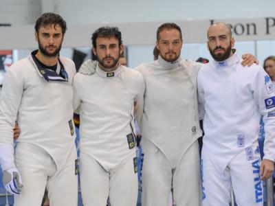 Scherma, Italia subito eliminata ai quarti nella prova a squadre di spada