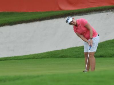 Golf, British Open femminile 2019: la sudafricana Ashleigh Buhai sorprende le favorite e chiude al comando il primo giro