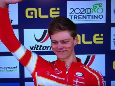Ciclismo, Europei 2019: cronometro Under23, doppietta Danimarca. Oro a Johan Price Pejtersen, lontani gli italiani