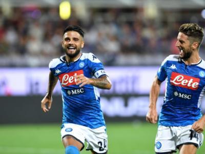 Highlights Fiorentina-Napoli 3-4: gol e sintesi della partita. Mertens, Insigne e Callejon danno spettacolo