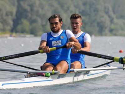 Canottaggio, Europei senior Poznan 2020: bronzo per Matteo Lodo e Giuseppe Vicino nel due senza senior maschile