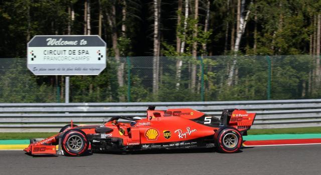 LIVE F1, GP Belgio 2019 in DIRETTA: Ferrari inarrivabile, brutto incidente per Hamilton! Dalle 15.00 le qualifiche