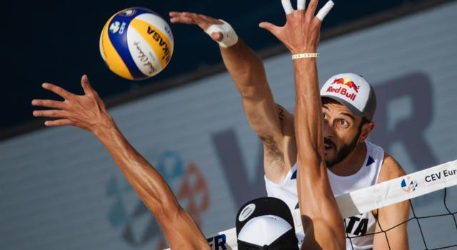 Beach volley, Europeo 2019 Mosca, 7 agosto. Lupo/Nicolai e Doppler/Horst: sfida tra vice-campioni