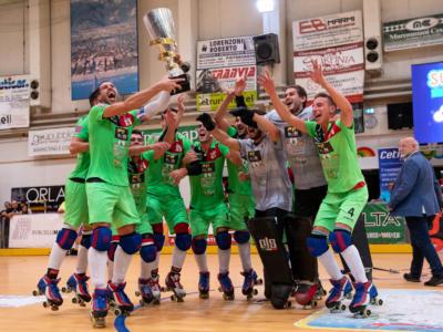 Hockey pista, Supercoppa Italiana 2019: Forte dei Marmi cala il tris! Breganze battuto 5-1 nella decisiva gara di ritorno