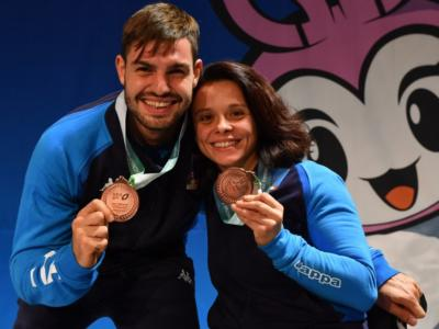 Scherma paralimpica, Mondiali 2019: Edoardo Giordan e Rossana Pasquino conquistano il bronzo!
