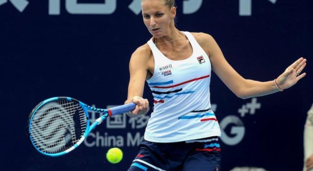 Tennis, WTA Zhengzhou 2019: vince Karolina Pliskova, battuta in finale Petra Martic dopo un rinvio di sei ore per la pioggia