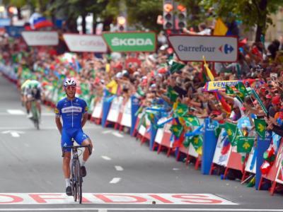 Vuelta a España 2019, risultato diciassettesima tappa: Philippe Gilbert concede il bis! Quintana trova la seconda piazza in classifica