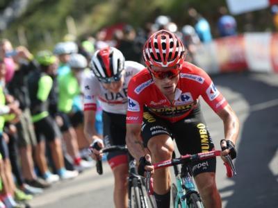 """Ciclismo, Primoz Roglic: """"Posso vincere il Tour. Più bello il podio al Giro d'Italia che il successo alla Vuelta"""""""