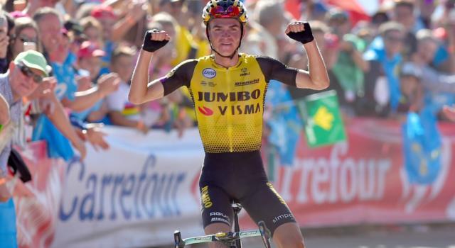 Pagelle Vuelta a España 2019, i voti della quindicesima tappa: show Jumbo-Visma con Roglic e Kuss