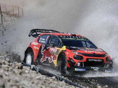 Rally Montecarlo 2020: Sebastien Ogier chiude in vetta il venerdì di un soffio su Evans. Ott Tanak finisce ko