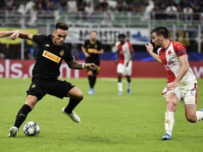 Calcio, Champions League 2019-2020: Inter-Slavia Praga 1-1, Barella salva i nerazzurri in pieno recupero