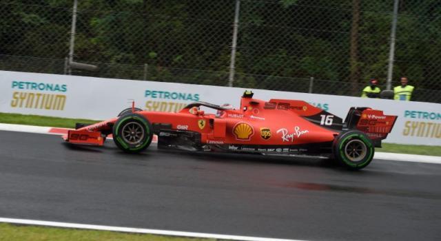 VIDEO F1, GP Italia 2019: il confronto tra le scie di Ferrari e Mercedes a Monza