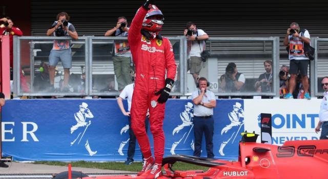 F1, GP Belgio 2019: FINALMENTE FERRARI! Charles Leclerc vince nel nome di Hubert, battuto Hamilton in volata!