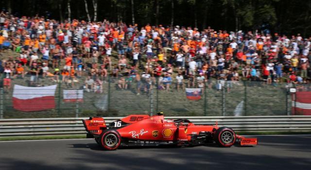 LIVE F1, GP Belgio 2019 in DIRETTA: apoteosi Ferrari, Leclerc beffa Hamilton per 9 decimi!