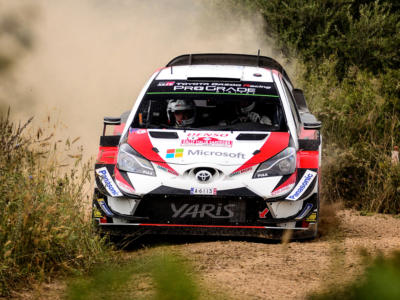 Rally Galles 2019: Ott Tanak vola nelle speciali in notturna ed è in vetta dopo due giornate, Ogier e Neuville non sono lontani