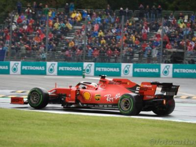 VIDEO Sebastian Vettel, GP Italia 2019: testacoda e incidente con Stroll, disastro del tedesco
