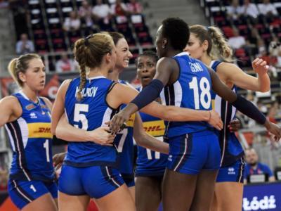Calendario Nations League volley femminile 2021: date, programma, orari. Tutte le partite dell'Italia