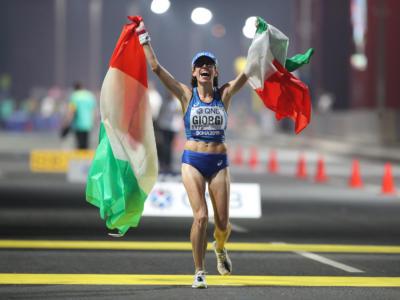 Atletica, parte la stagione indoor: tanti italiani in gara nel weekend, Eleonora Giorgi nella 35 km di marcia