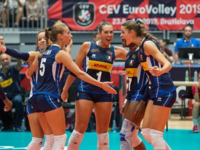 Volley femminile, Europei 2019: Italia-Slovacchia 3-0, le azzurre volano ai quarti di finale. Ora c'è la Russia!