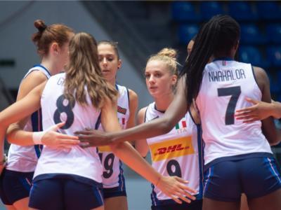 Volley femminile, Mondiali Under 18: l'Italia batte il Messico e vince il girone, ora ottavi contro il Porto Rico