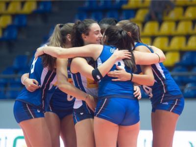 Volley femminile, Mondiali Under 18: esordio vincente dell'Italia, USA sconfitti in rimonta