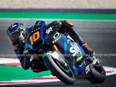 LIVE Moto2, GP San Marino 2020 DIRETTA: Marini trionfa! Bezzecchi e Bastianini sul podio. Grande Italia a Misano