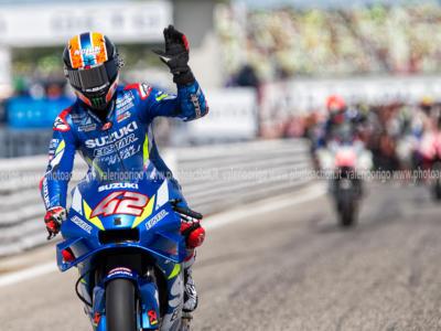"Alex Rins, MotoGP: ""Tre giorni molto positivi, provati tre telai. Suzuki sta lavorando sul sistema holeshot"""