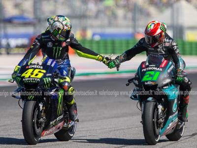 """MotoGP, Franco Morbidelli: """"Amicizia senza filtri con Valentino Rossi. Non c'è sorpasso che possa ledere il rapporto"""""""