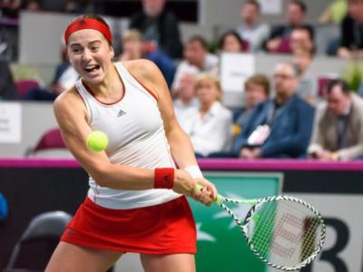 WTA San Pietroburgo 2021, i risultati del 17 marzo: ai quarti Vera Zvonareva, eliminata Jelena Ostapenko