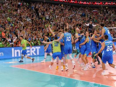 """Volley, Europei 2019: la magia della piccola Slovenia, una squadra """"italiana"""" in finale. Numero di Giuliani, Russia e Polonia inginocchiate"""