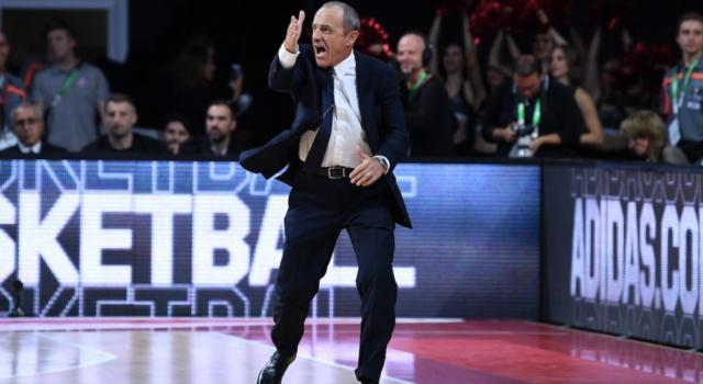 """Basket, Eurolega. Ettore Messina: """"Faccio i complimenti ai miei giocatori per la vittoria. Mi è piaciuto Jeff Brooks"""""""