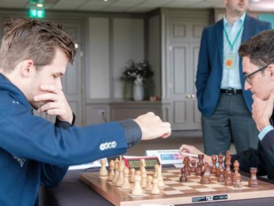 Scacchi, FIDE Grand Swiss 2019: in quattro in testa tra cui Caruana, che patta velocemente con Carlsen