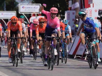 Tour of Guangxi, risultato seconda tappa: sorpresa McLay! Trentin nuovamente terzo