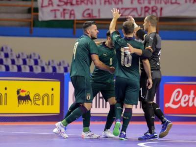 Calcio a 5, Qualificazioni Mondiali 2020: Italia-Ungheria 4-1, gli azzurri accedono al turno decisivo