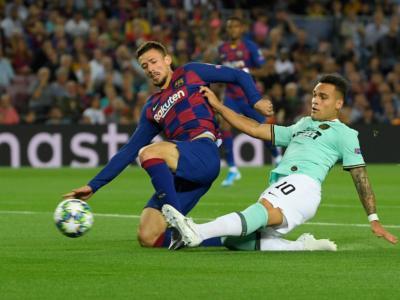 Barcellona-Inter 2-1, Champions League: i nerazzurri sognano con Martinez, la doppietta di Suarez gela gli uomini di Conte