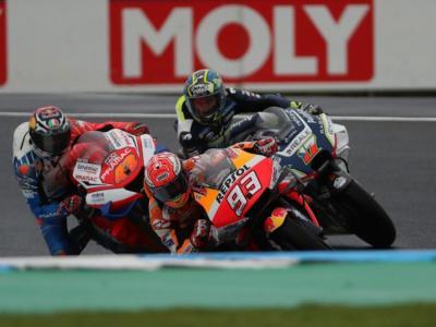 MotoGP, GP Australia 2019: le pagelle della gara. Marquez infinito, Rossi illude, Bagnaia stupisce, Lorenzo affonda